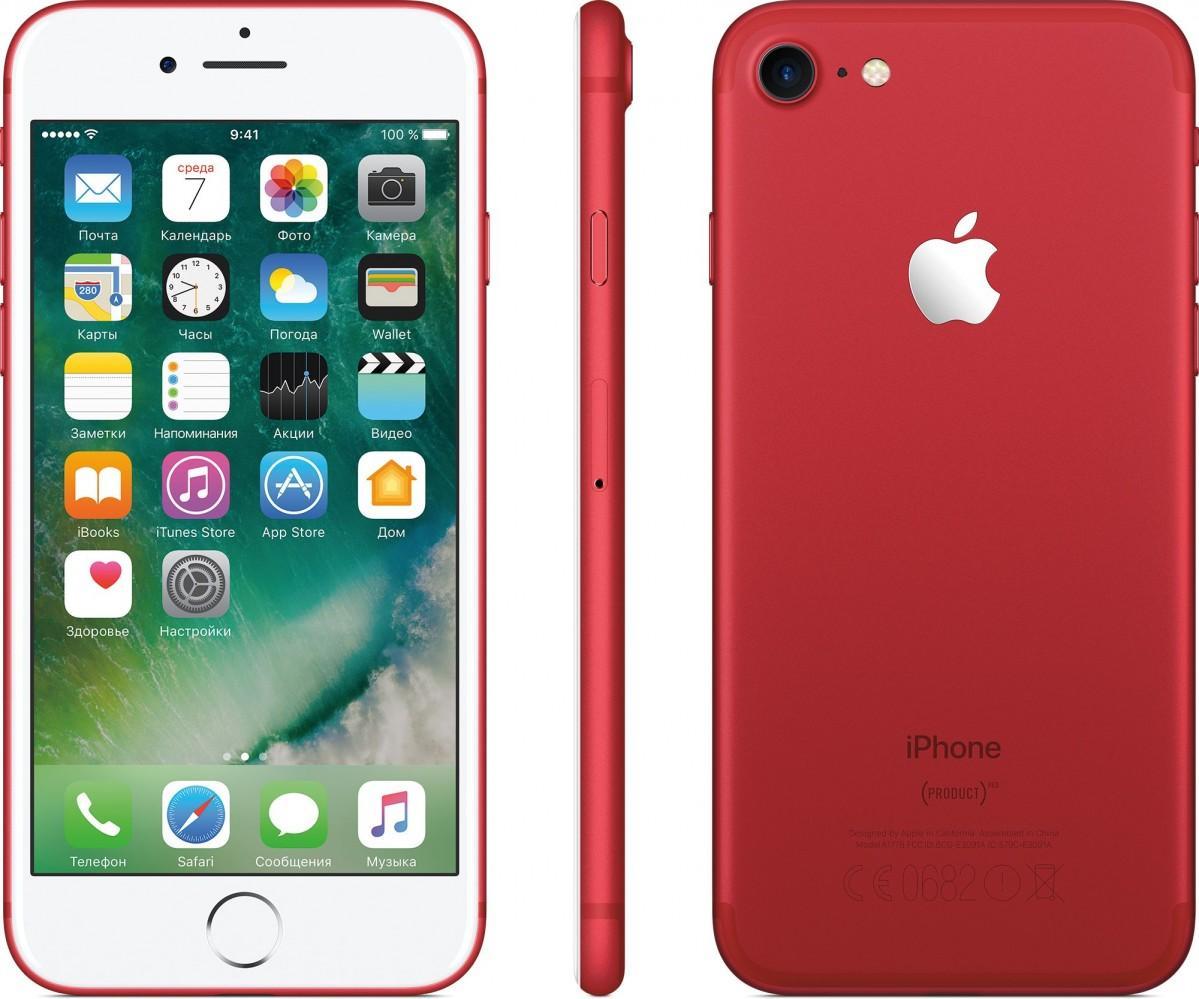 Обзор iPhone 8 plus 256gb red