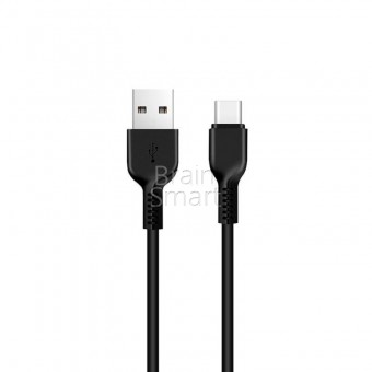 USB кабель HOCO X20 Flash Type-C (1m) Black фото