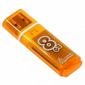 USB Flash Smart Buy Glossy 8Gb Orange фото